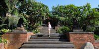 Taman Lantai Atas Hotel Bumi Surabaya City Resort